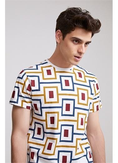 TWN Slim Fitbaskılı T-Shirt Renkli